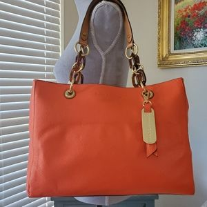 Emma & Sophia Leather Shoulder Bag